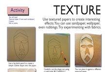 texture art skills