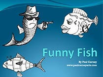 Funny Fish art lesson plan
