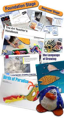 Primary Art lesson pack art lesson plan
