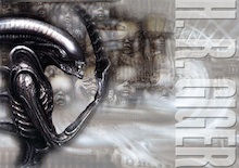 Giger photoshop art lesson plan