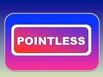 Pointless art game