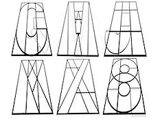 Graffiti lettering sheet, art lesson plan