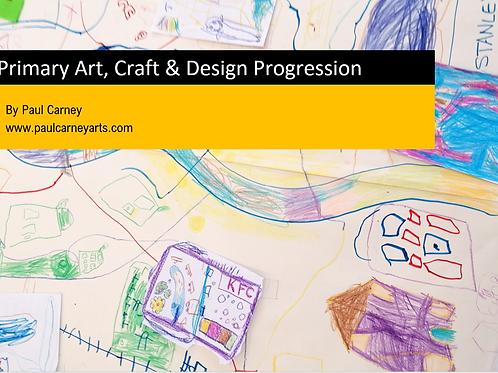 Primary Art, Craft & Design Progression