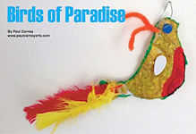 Birds of Paradise art lesson plan