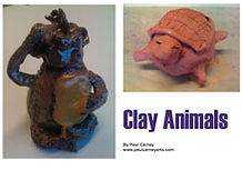 Clay Animals art lesson plan