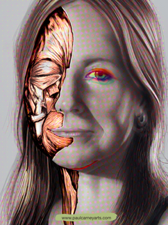 Professor Alice Roberts muscles of the face