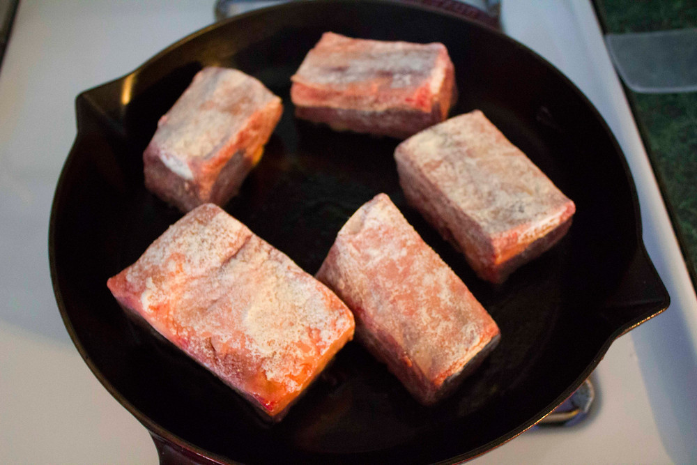 seared short ribs