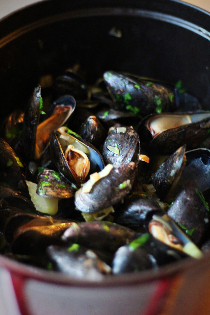 Mussels with Fennel