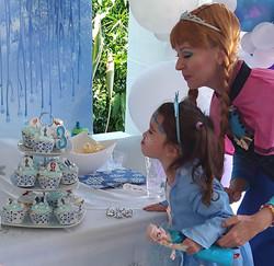 Queen Elsa Birthday Party Gold Coast