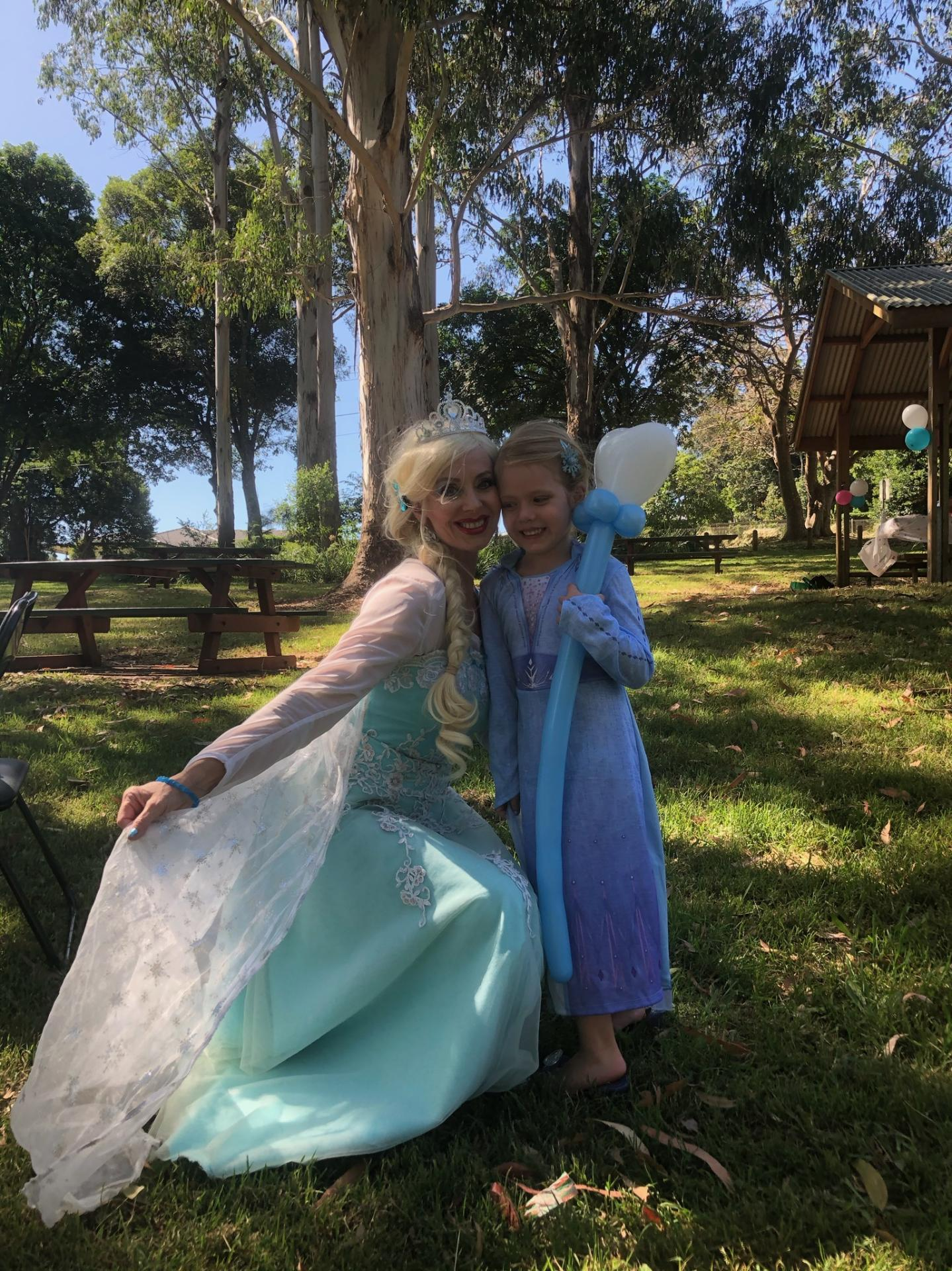 Queen Elsa Birthday Party Gold Coast