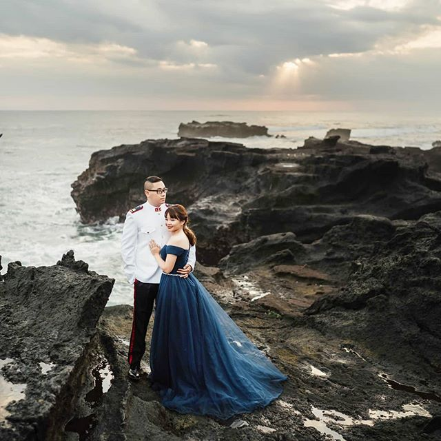 Pre-wedding photography in Bali