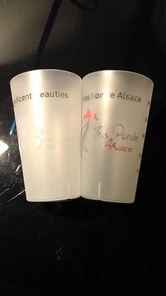 Gobelet Miss Ronde Alsace translucide 30 cl
