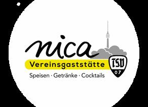 "Vereinsgaststätte TSV07 Stuttgart ""nica"""