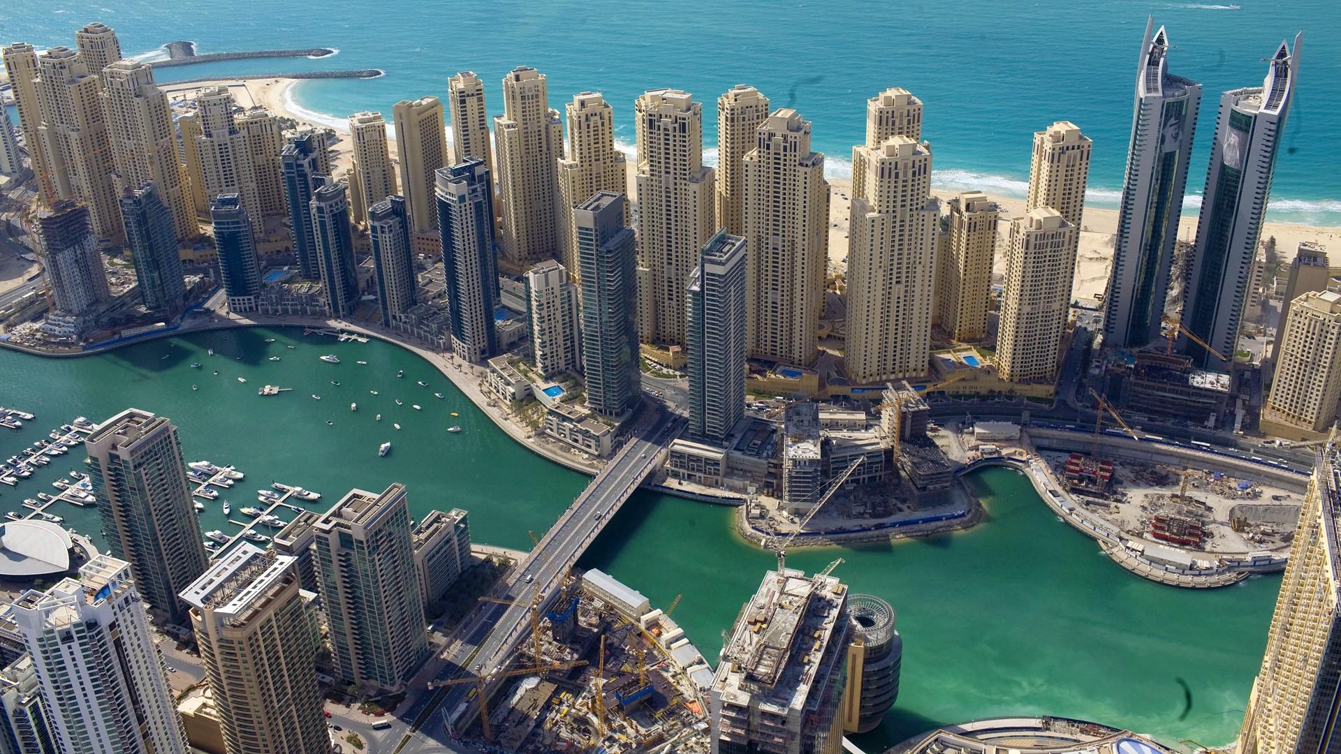 Also Dubai's real estate