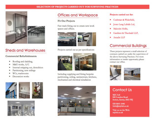 MJC fit out projects