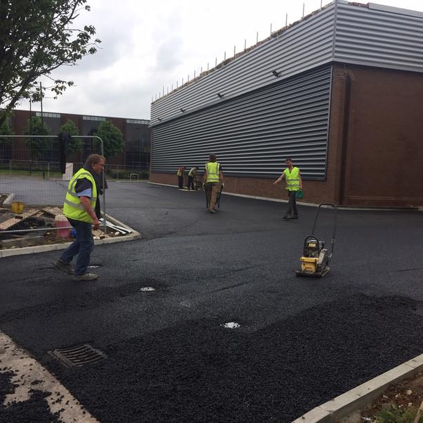 Major refurbishment works on Slough Industrial Estate