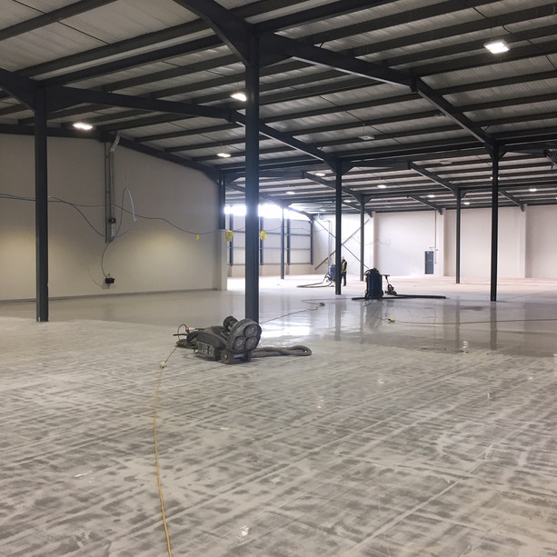 Warehouse fitting out works