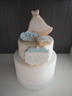 Hochzeitorte mit Keksdesign