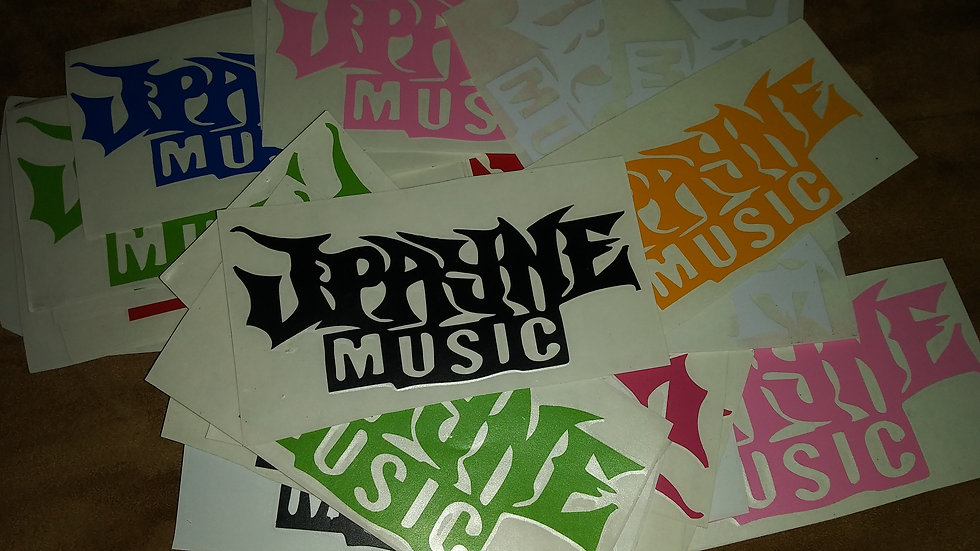 J Payne Music decal (various colors)