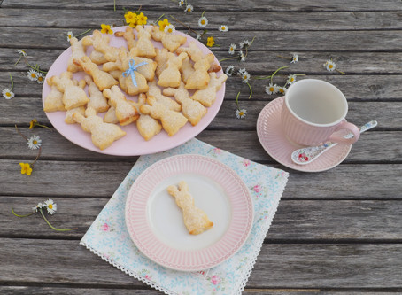 Mein erster Blogeintrag, eine Ostergeschichte und ein Rezept für kinderleichte Quarkhasen