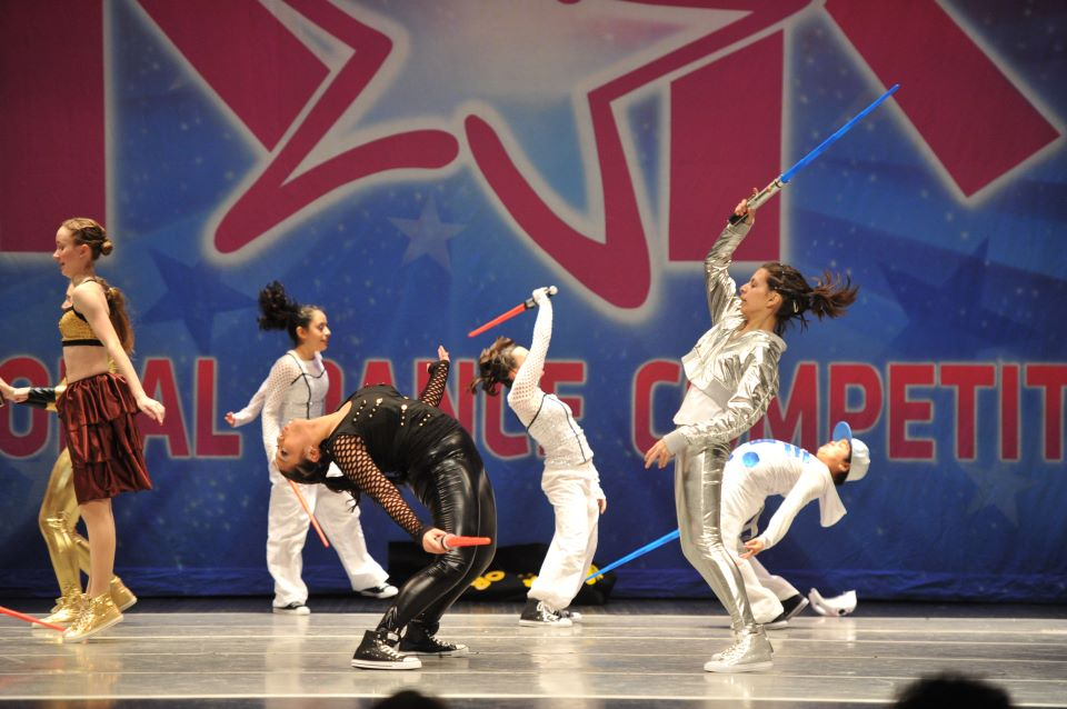 Star Wars Hip Hop Competition Dance