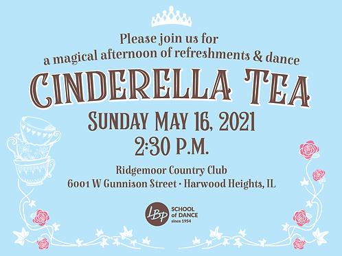 Cinderella Tea Ticket