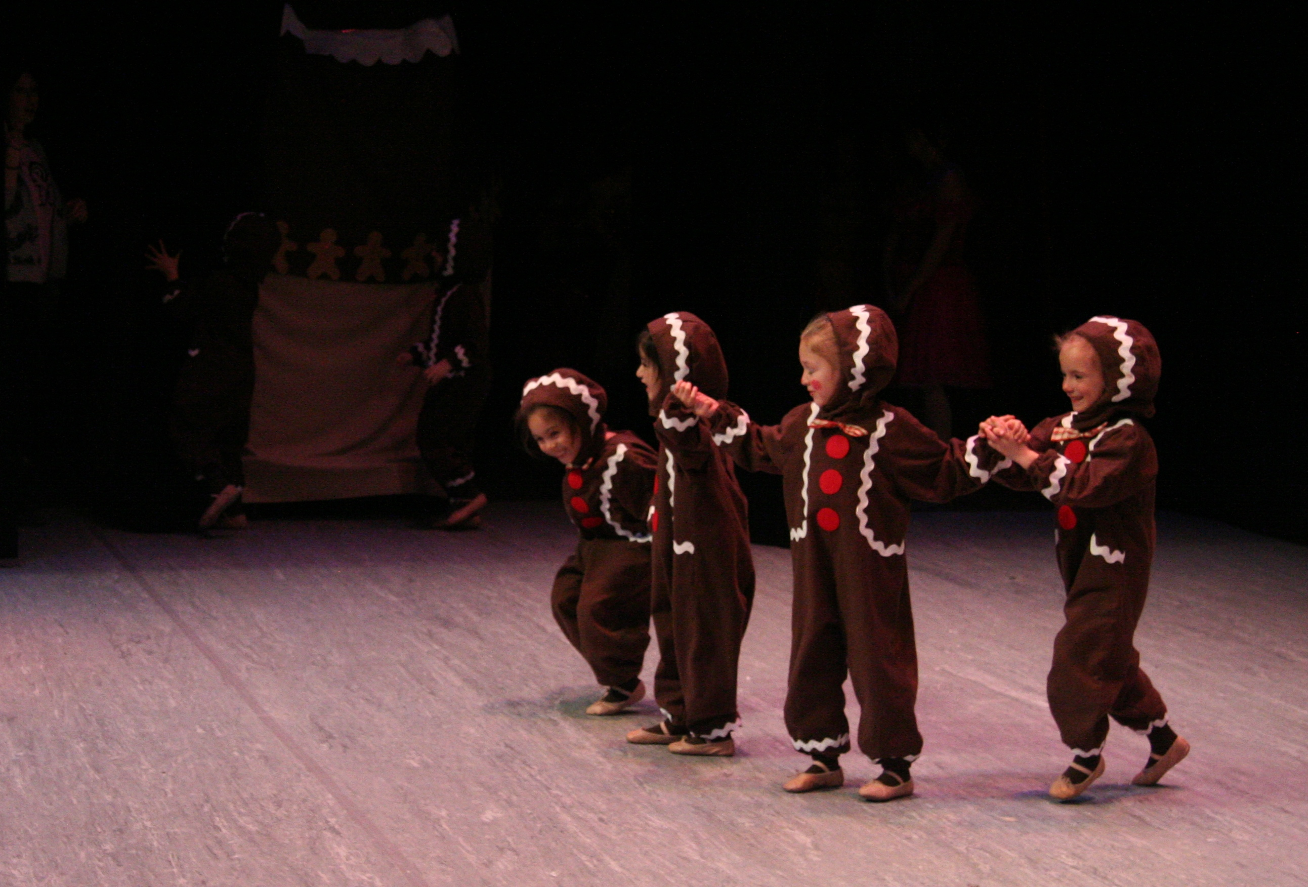 Children Perform Nutcracker