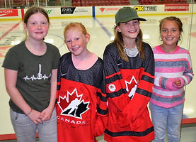 Youth pic enjoying Team Canada Women at Queens Place 2019