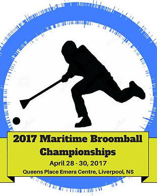 Maritime Broomball Chamionship 2017 poster