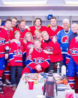 Montreal Canadien Alumni - queens manor game pic