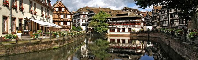 Strasbourg rhinen flodkrydstogt