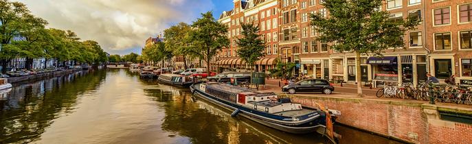 Amsterdam rhinen flodkrydstogt
