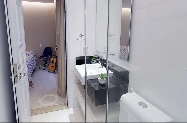 Banheiro da suíte nº 4