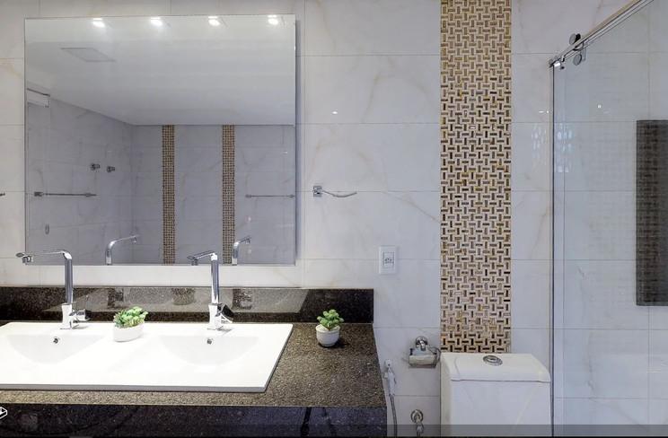 Bancada Sala de banho casal