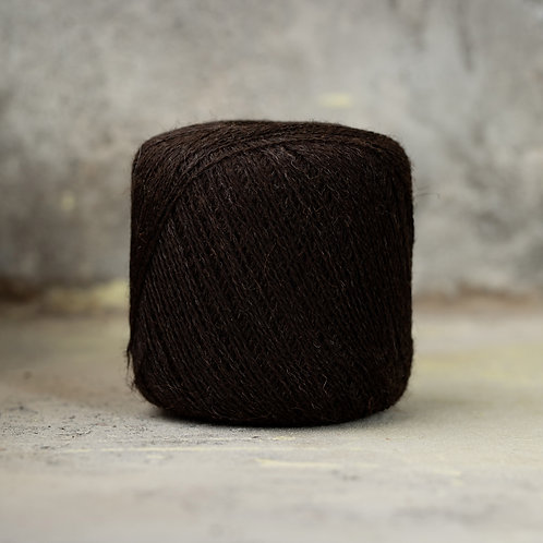 2ply Supreme Lace Weight Black