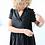 Thumbnail: Omlottklänning Linne Svart