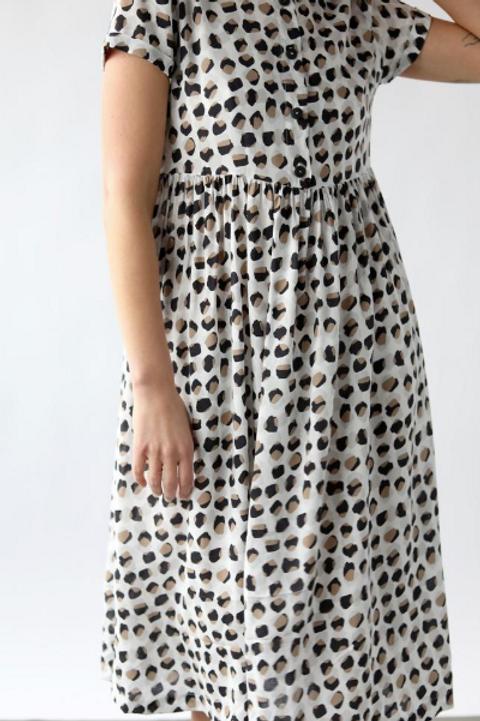Safariprint klänning
