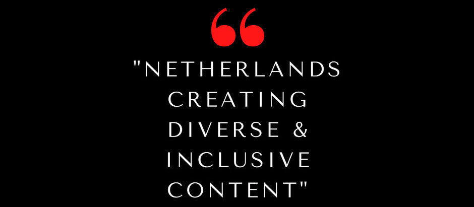 Interview with Star & Co-Creator of  Netherlands - Creating Diverse & Inclusive Content Part II
