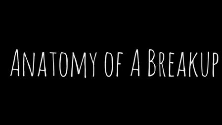 Anatomy of a Breakup