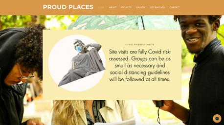 Proud Places website