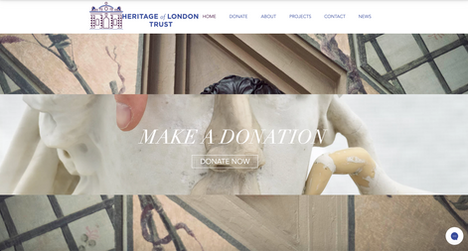Heritage of London Trust website