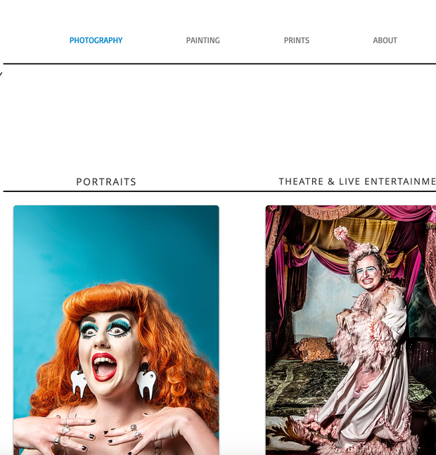 Rah Petherbridge Website