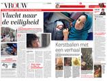 Vlucht naar de veiligheid/de Telegraaf