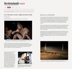 New Internationalist Magazine/UK