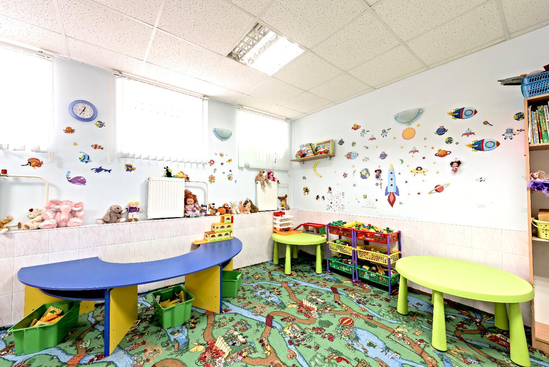 Веселая игровая комната