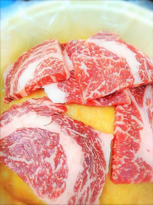 牛豚の味噌漬¥10800