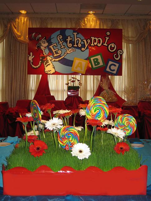 Dr Seuss Theme Party Decorations