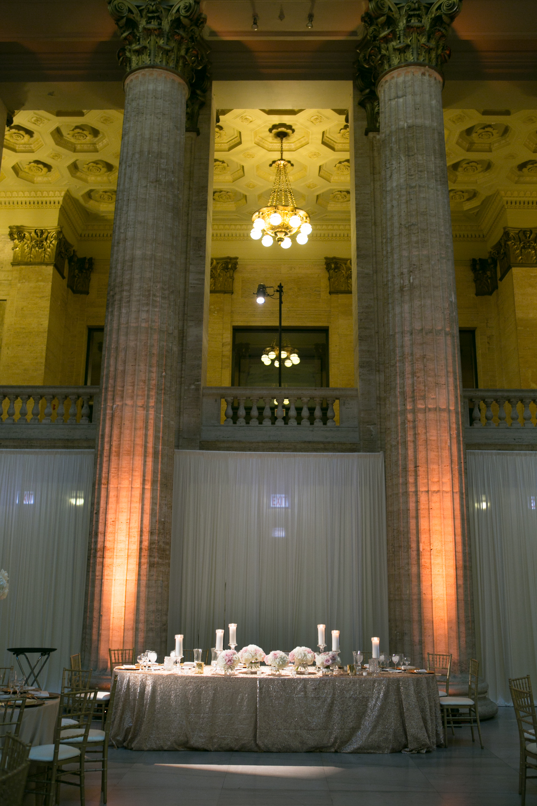 Union Station Wedding Head Table