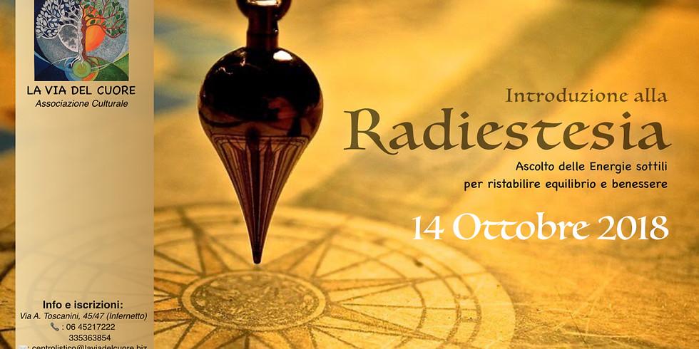 Introduzione alla Radiestesia - presentazione gratuita