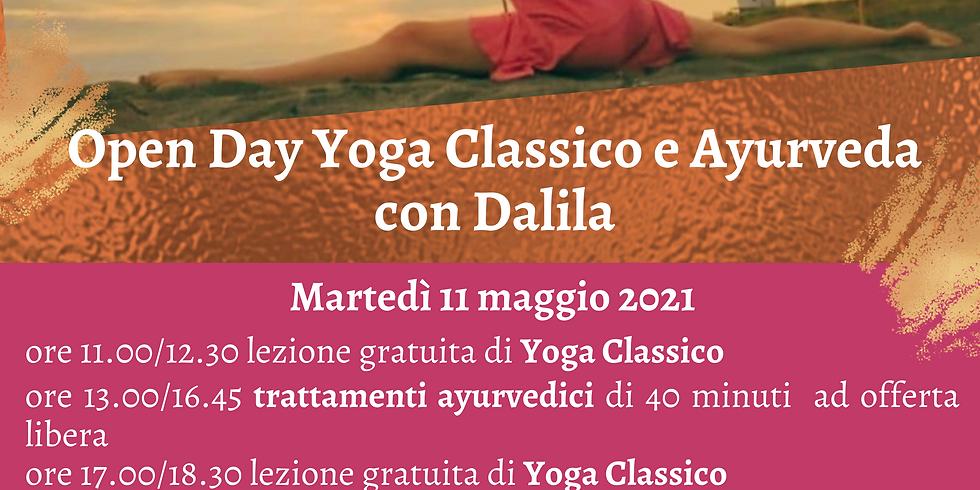 Open Day Yoga Classico e Ayurveda